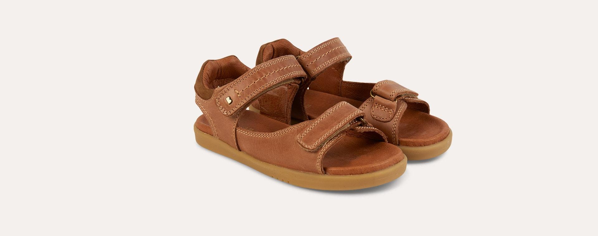 Caramel Bobux Kid+ Driftwood Sandal