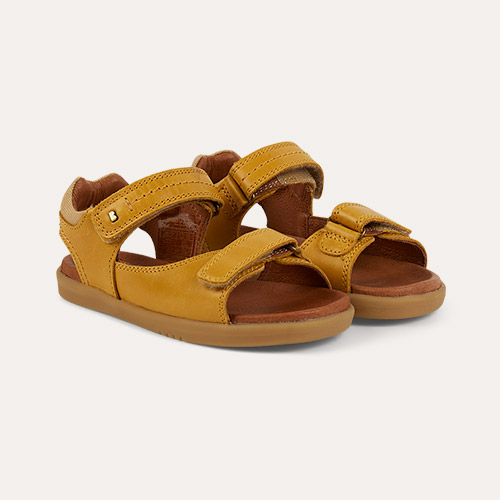 Chartreuse Bobux Kid+ Driftwood Sandal