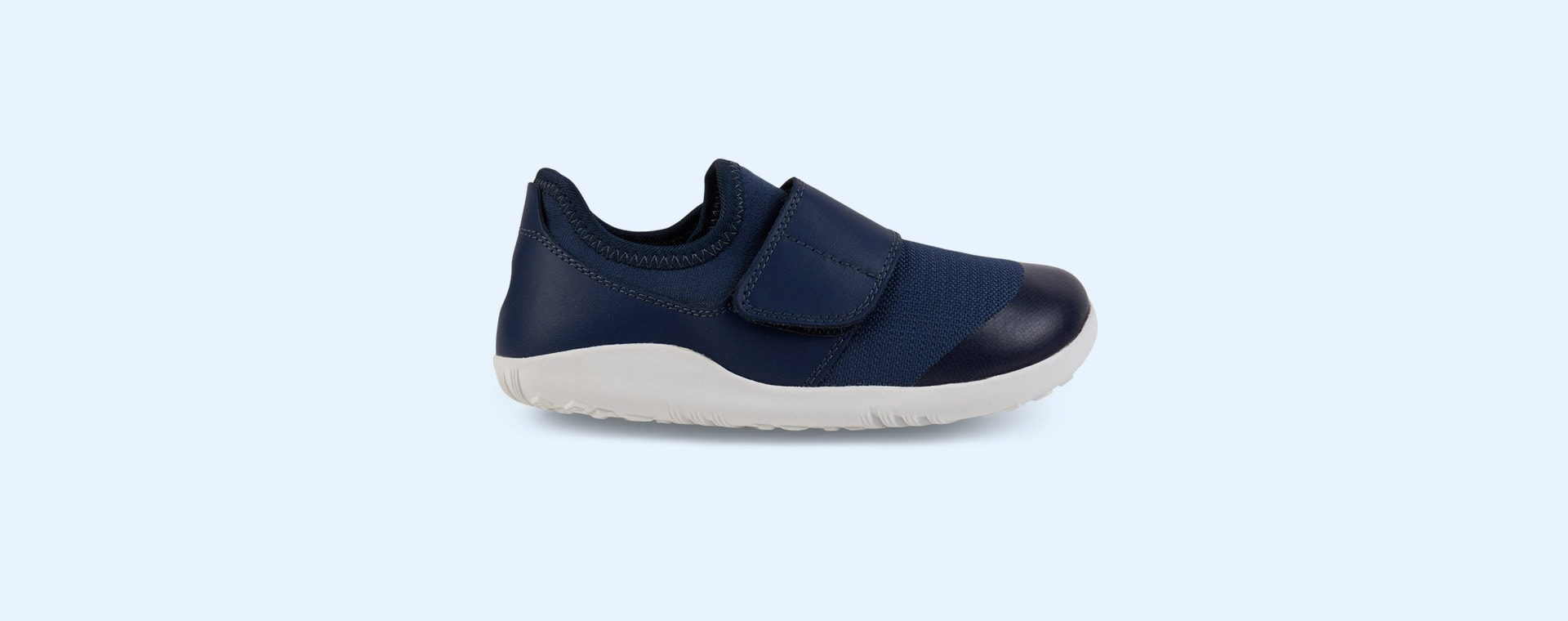 Navy Bobux Kid+ Lo Dimension Shoe
