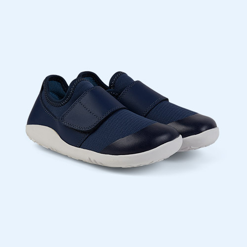 Navy Bobux Kid+ Lo Dimension Shoe
