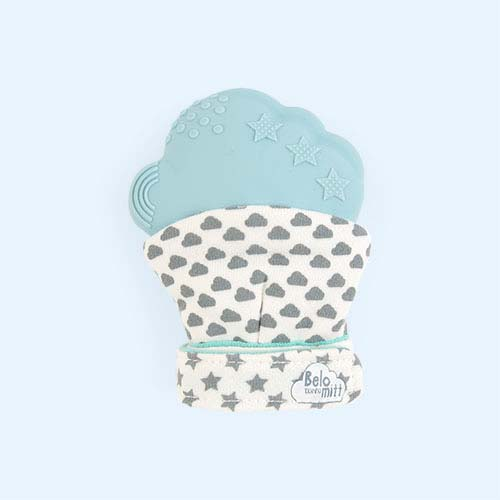Blue Belo & Me Belo Teething Mitt