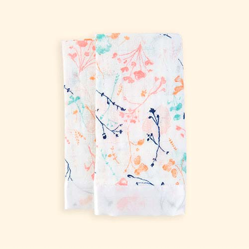 Petal Blooms aden + anais Classic Issy Security Blanket