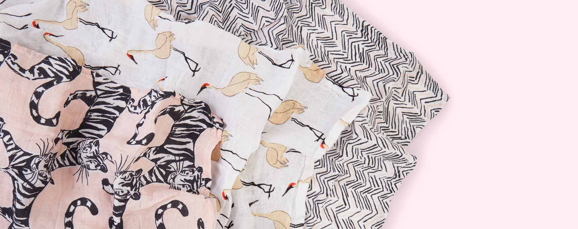Pacific Paradise aden + anais Classic Swaddle - 3 Pack
