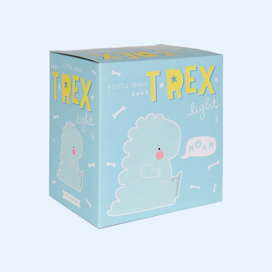 Blue A Little Lovely Company Little T-Rex Light