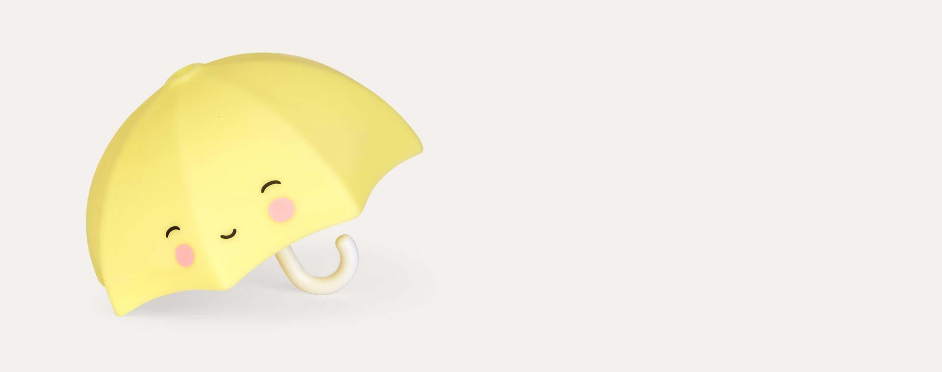 Yellow A Little Lovely Company Umbrella Bath Toy