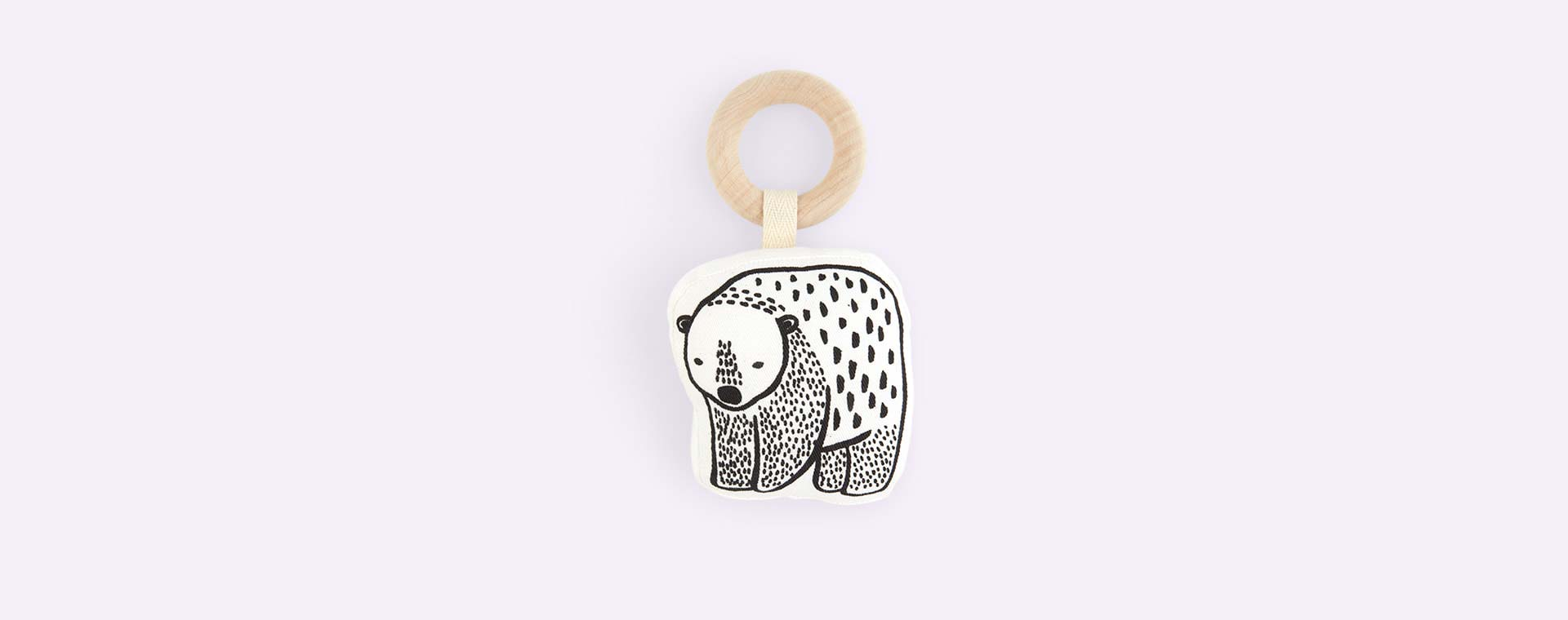Bear Wee Gallery Teether Rattle