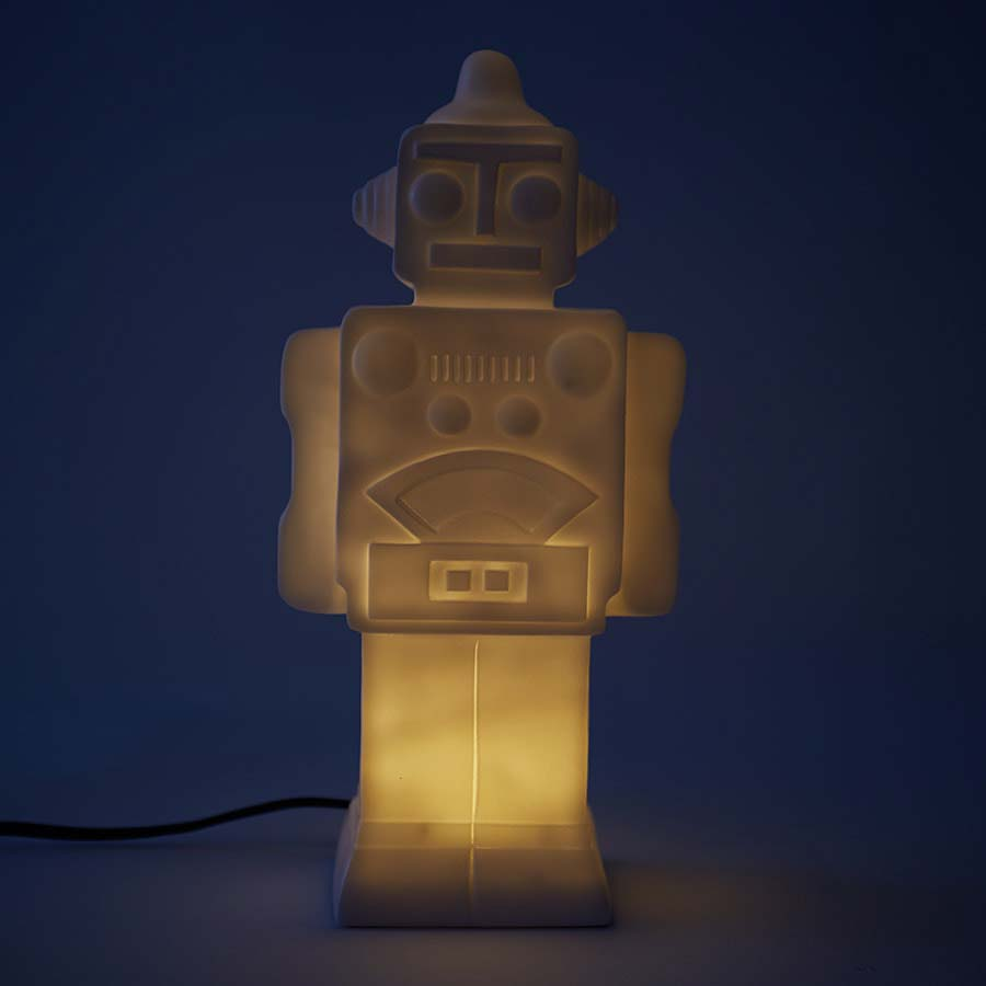 White House of Disaster Robot Lamp