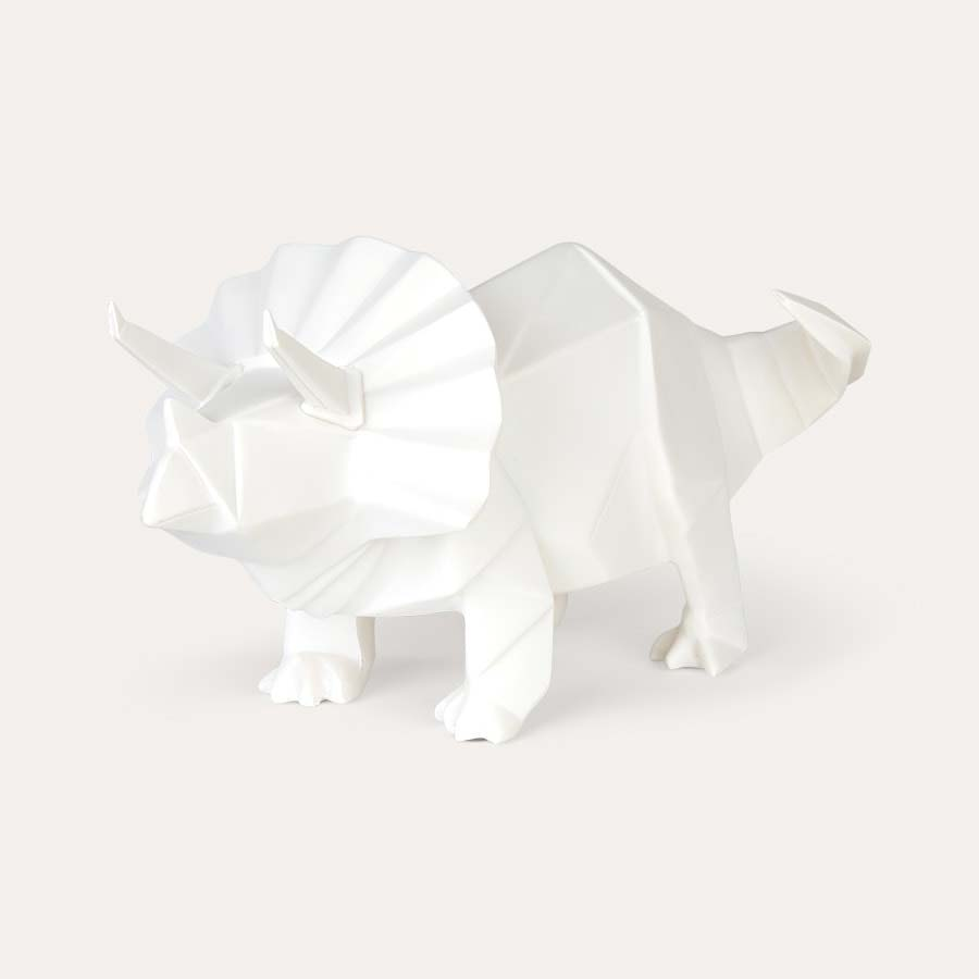 White House of Disaster Triceratops Dinosaur Lamp