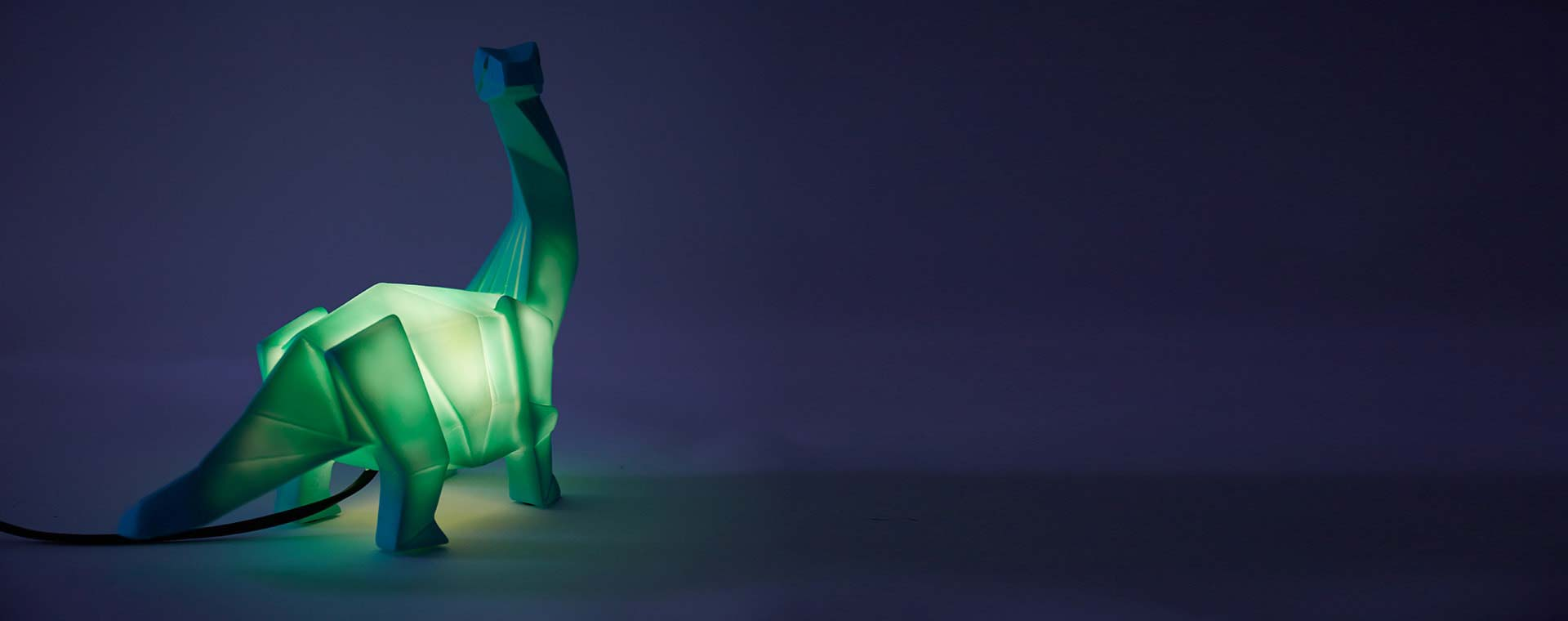 Green House of Disaster Diplodocus Dinosaur Lamp