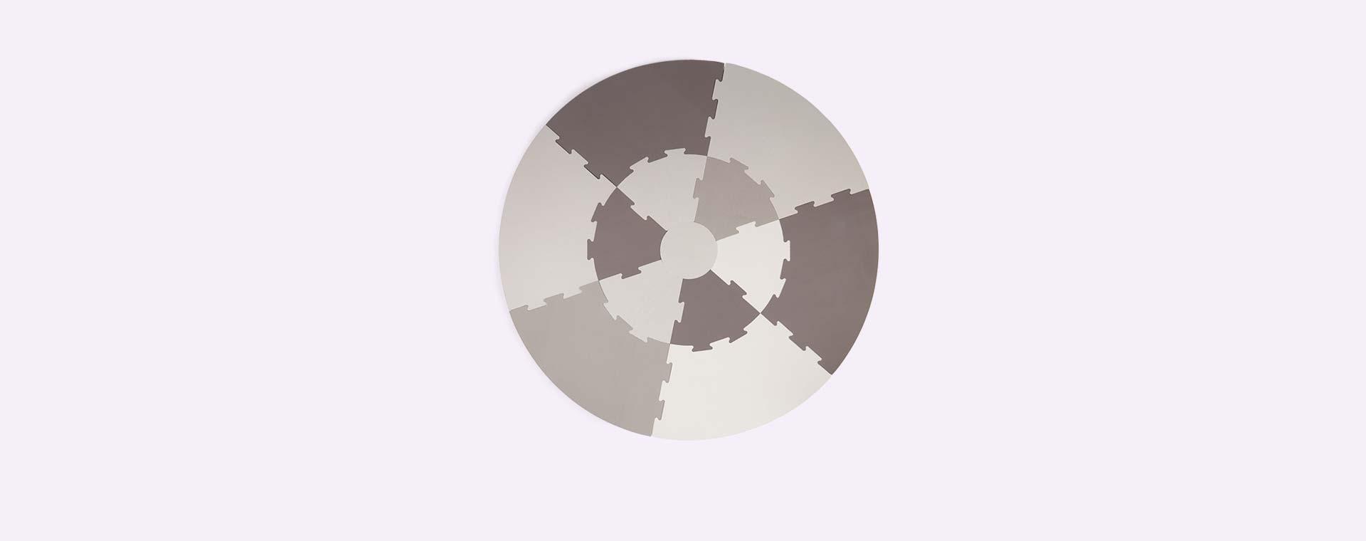 Warm Grey Sebra Playmat