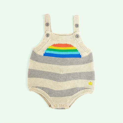 Rainbow The Bonnie Mob Sunrise Knitted Romper