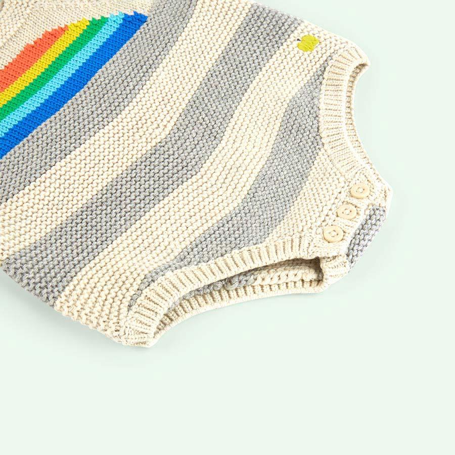 Rainbow The Bonnie Mob Sunrise Knitted Romper