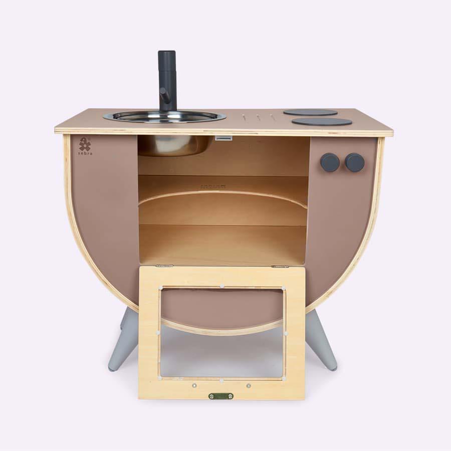 Warm Grey Sebra Kitchen