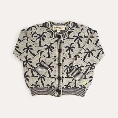 Monochrome The Bonnie Mob Lightweight Knit Palm Tree Cardigan
