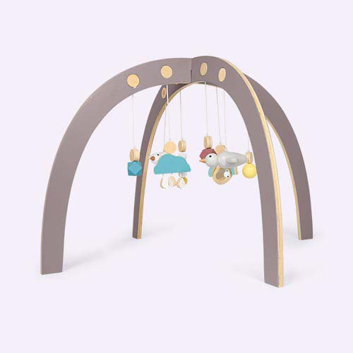 Warm Grey Sebra Baby Gym
