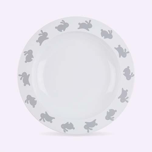 Bunny Buddy & Bear Plate