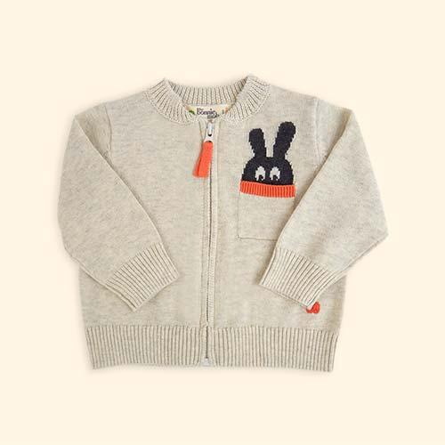 Neutral The Bonnie Mob Bunny Pocket Cardigan