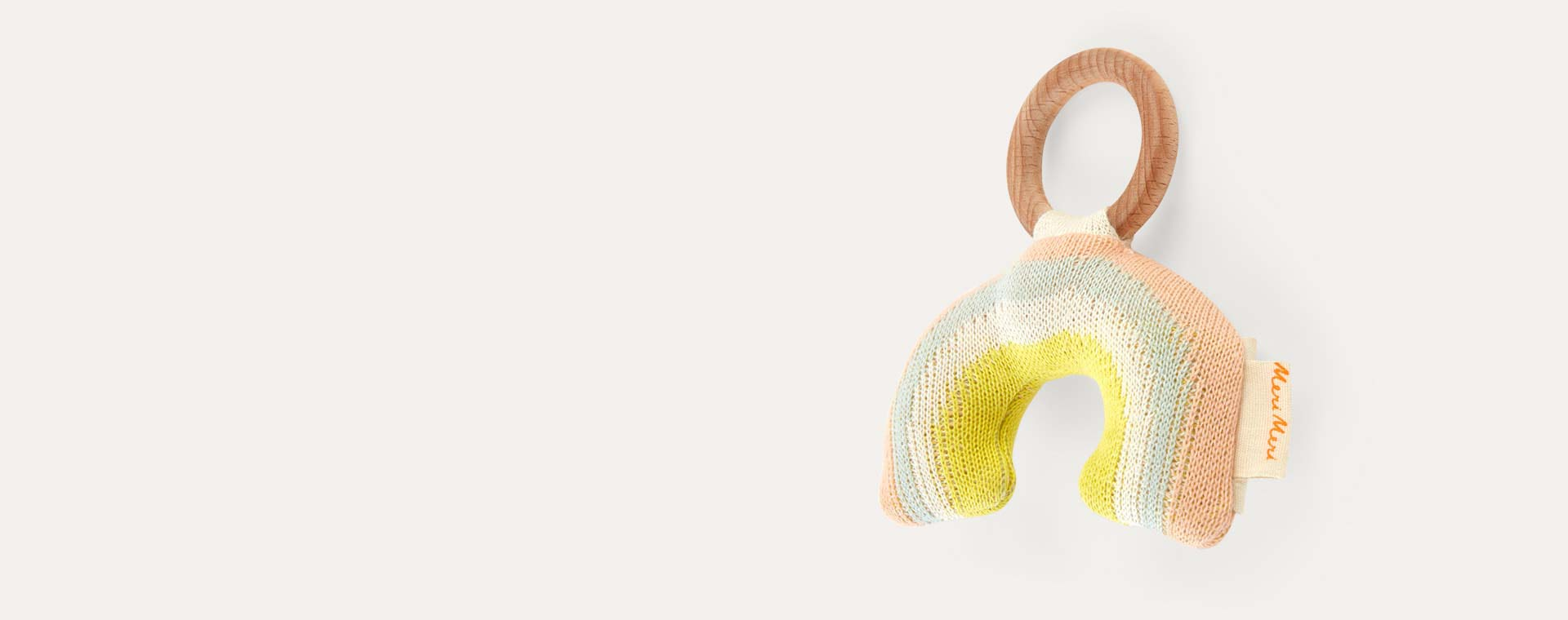 Rainbow Meri Meri Rainbow Rattle