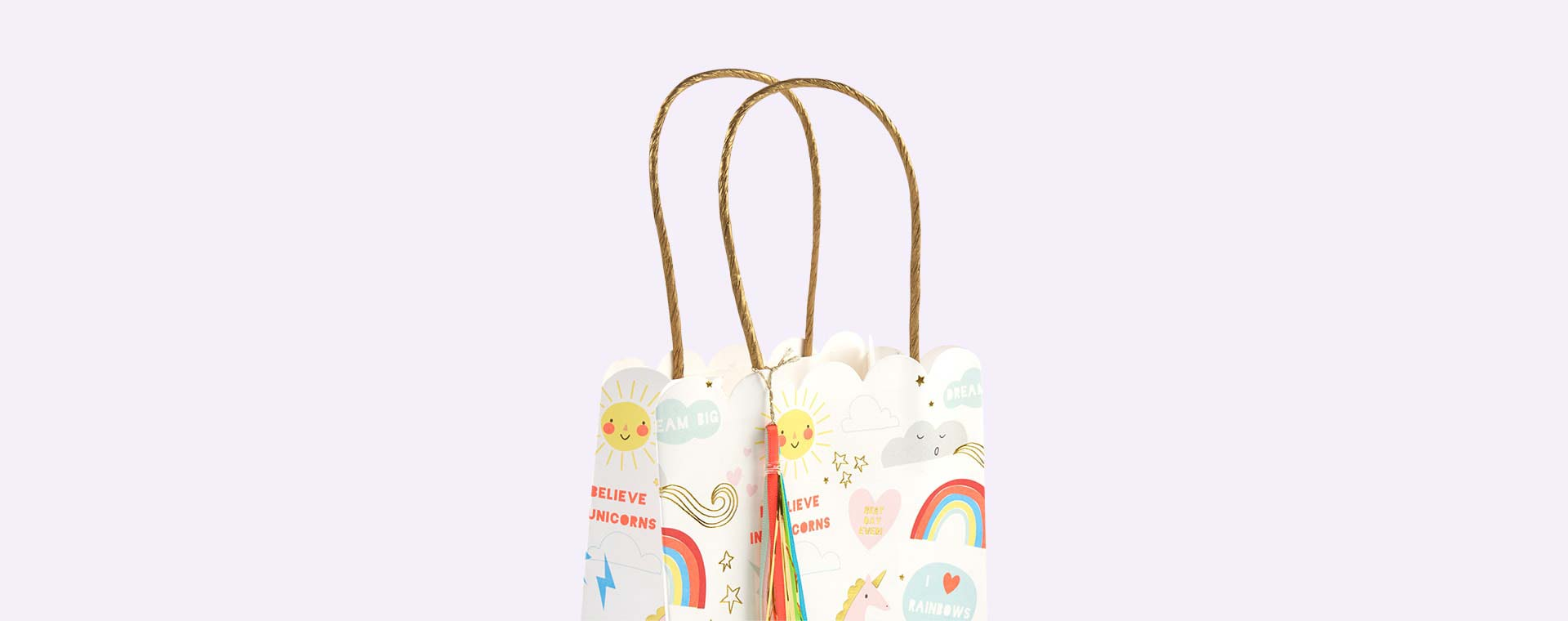 Unicorn Meri Meri Unicorn and Rainbow Party Bags