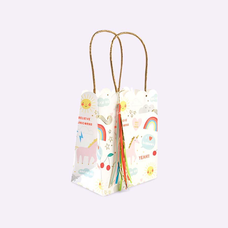 Unicorn Meri Meri Unicorn and Rainbow Party Bags