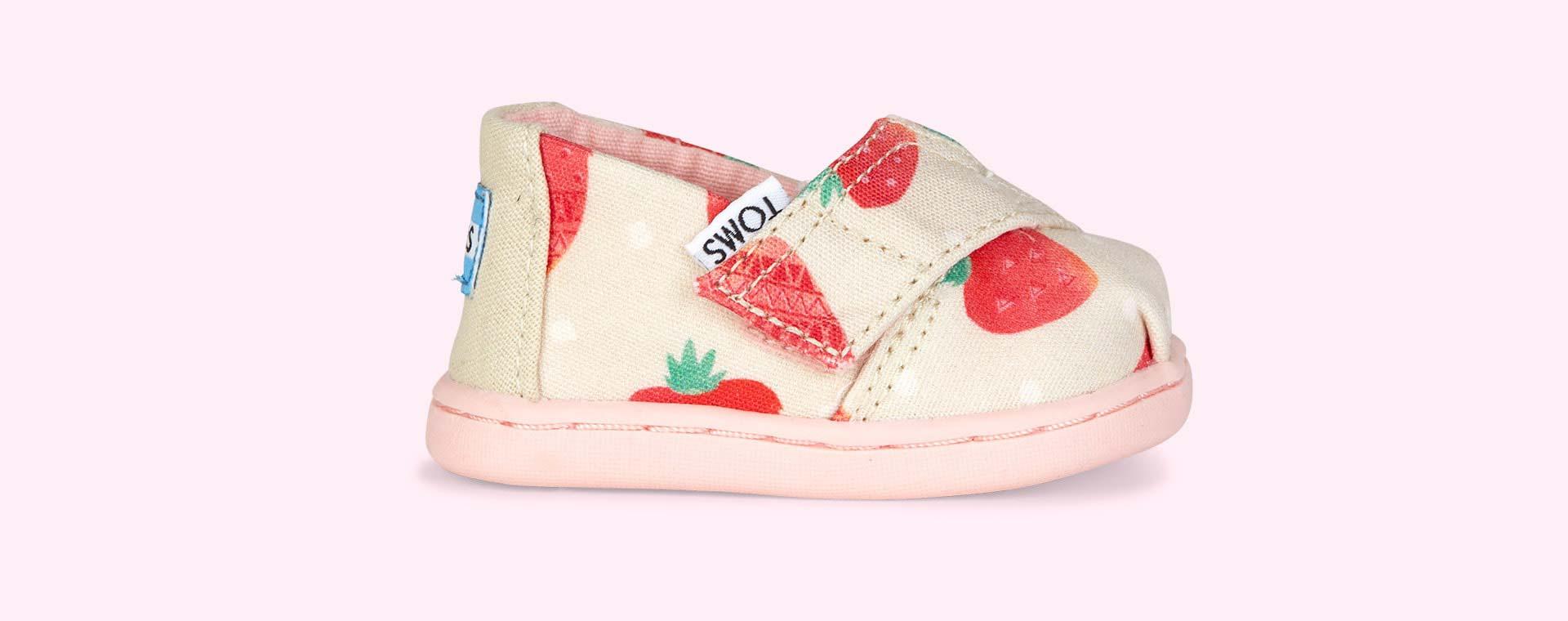 Pink TOMS Alpagarta Espadrille Strawberry