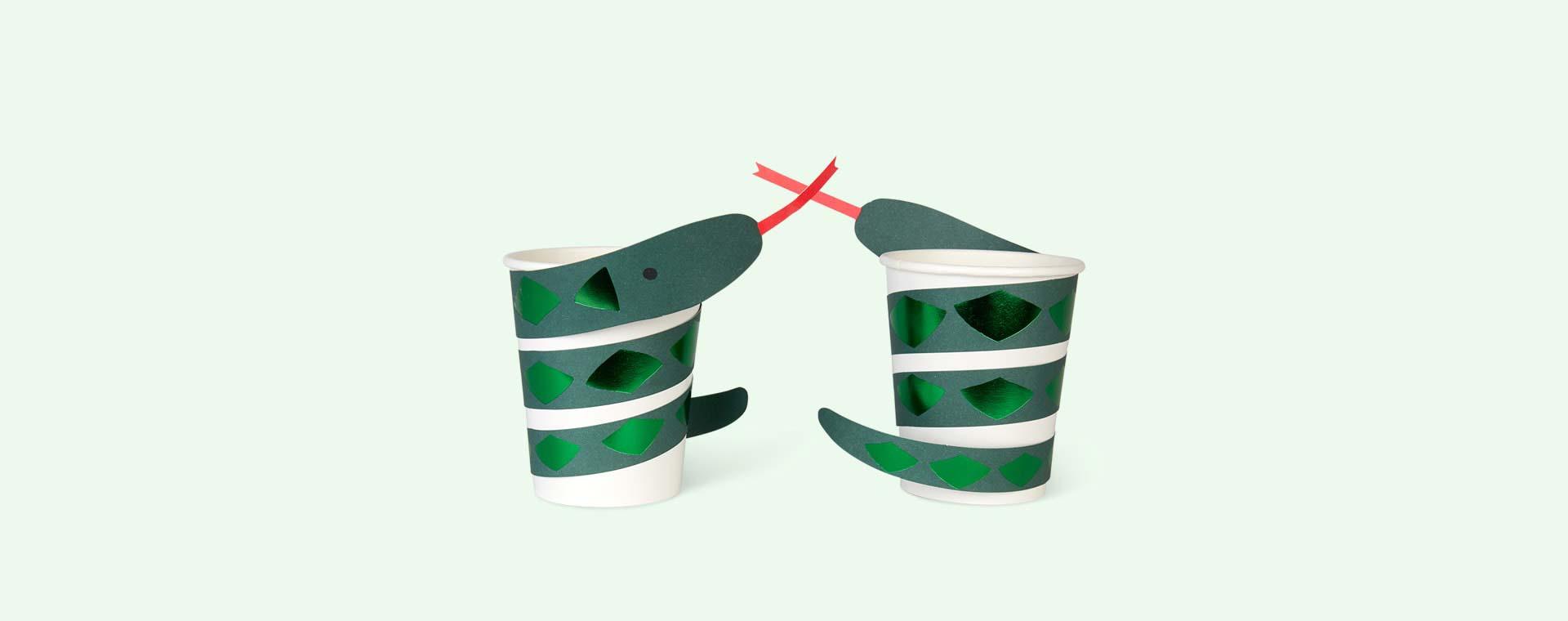 Multi Meri Meri Snake Party Cups