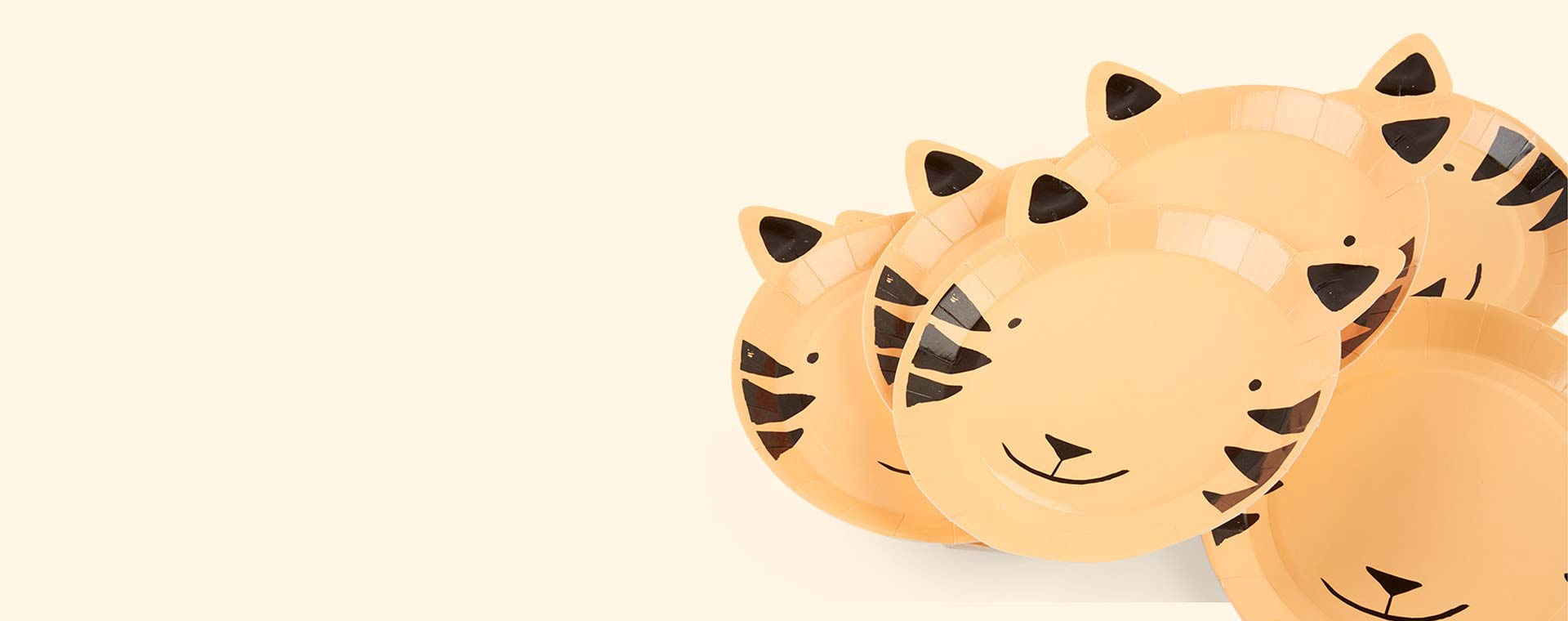 Tiger Meri Meri Tiger Plate