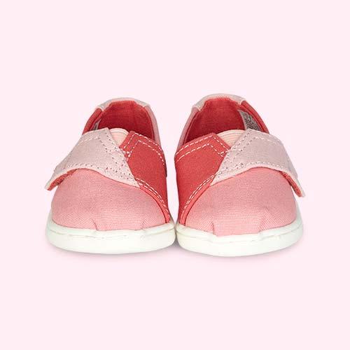 Pink TOMS TOMS Alpagarta Espadrille Pink Mix