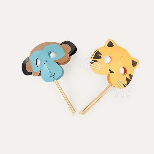 Multi Meri Meri Go Wild Party Masks