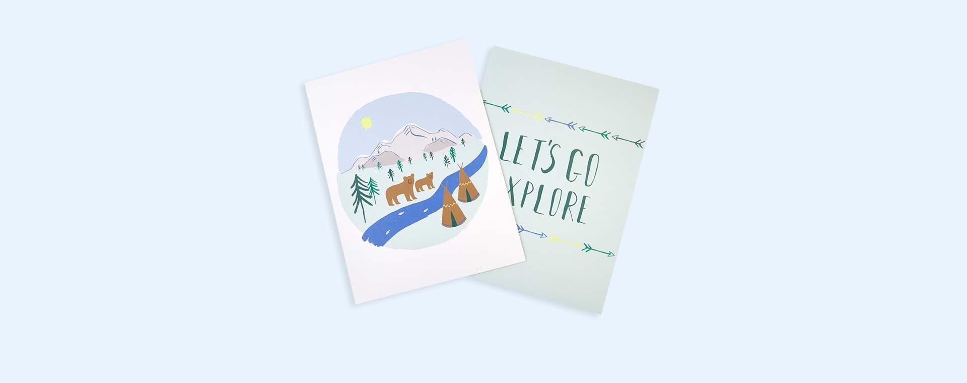 Let's Explore Meri Meri Let's Explore Art Prints