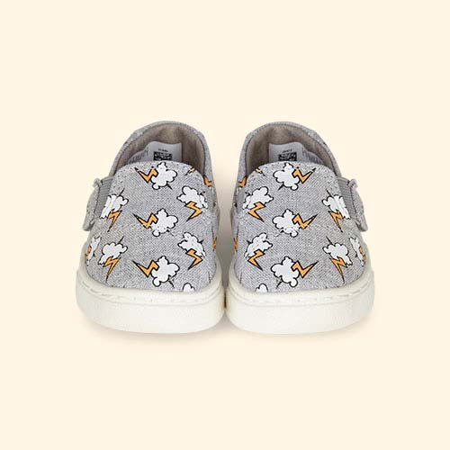 Lightning Bolt TOMS Luca Slip-On Shoe