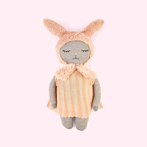 Grey OYOY Hopsi Bunny Doll
