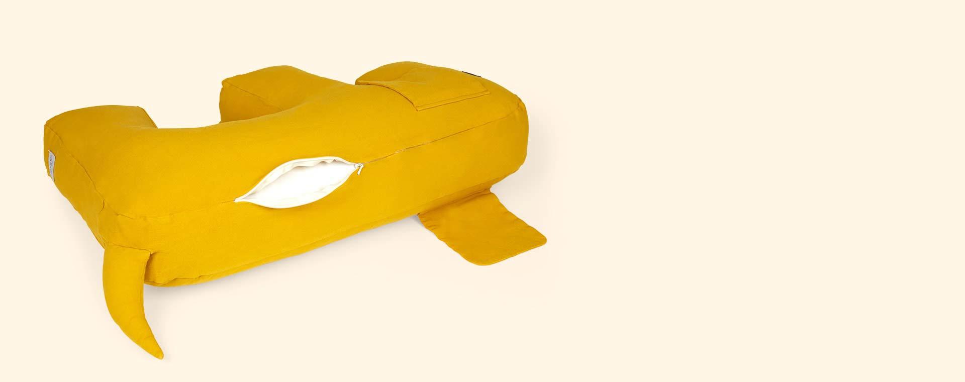 Mustard Nanami Olly Dog Feeding Pillow
