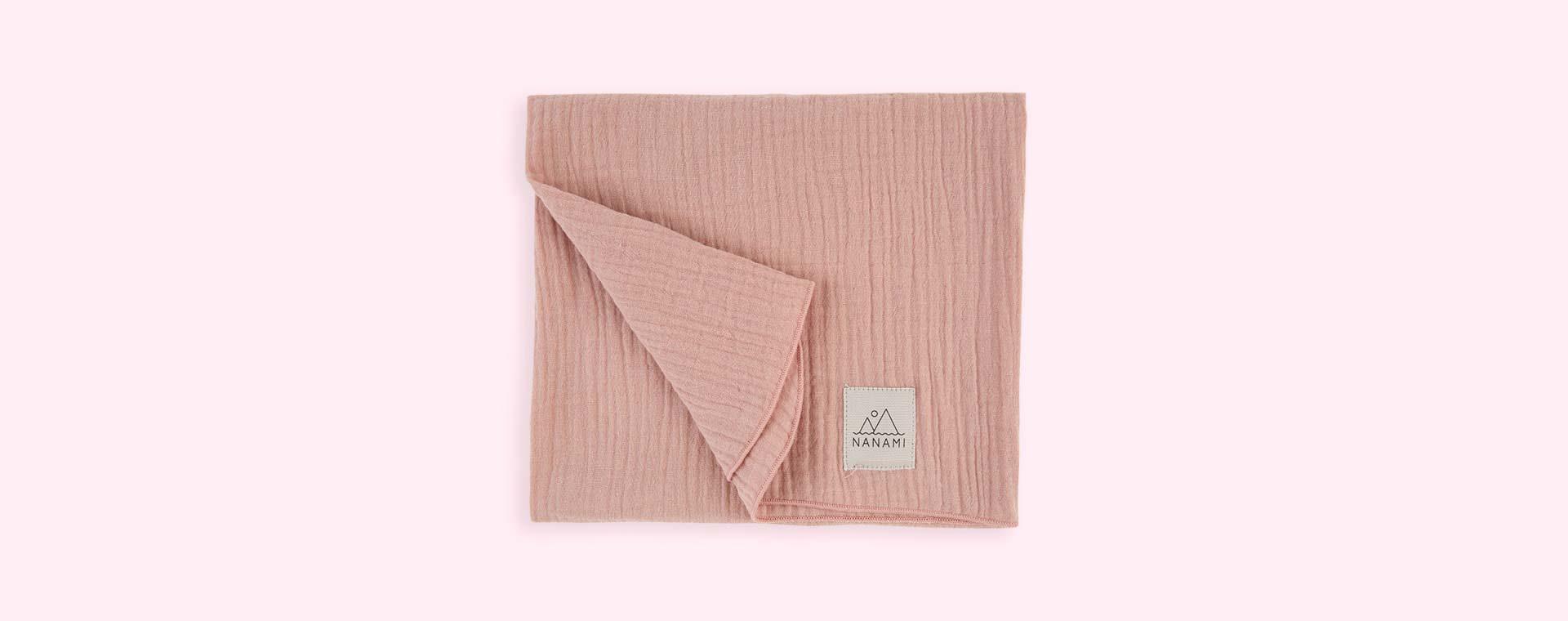 Dusty Pink Nanami Muslin Square