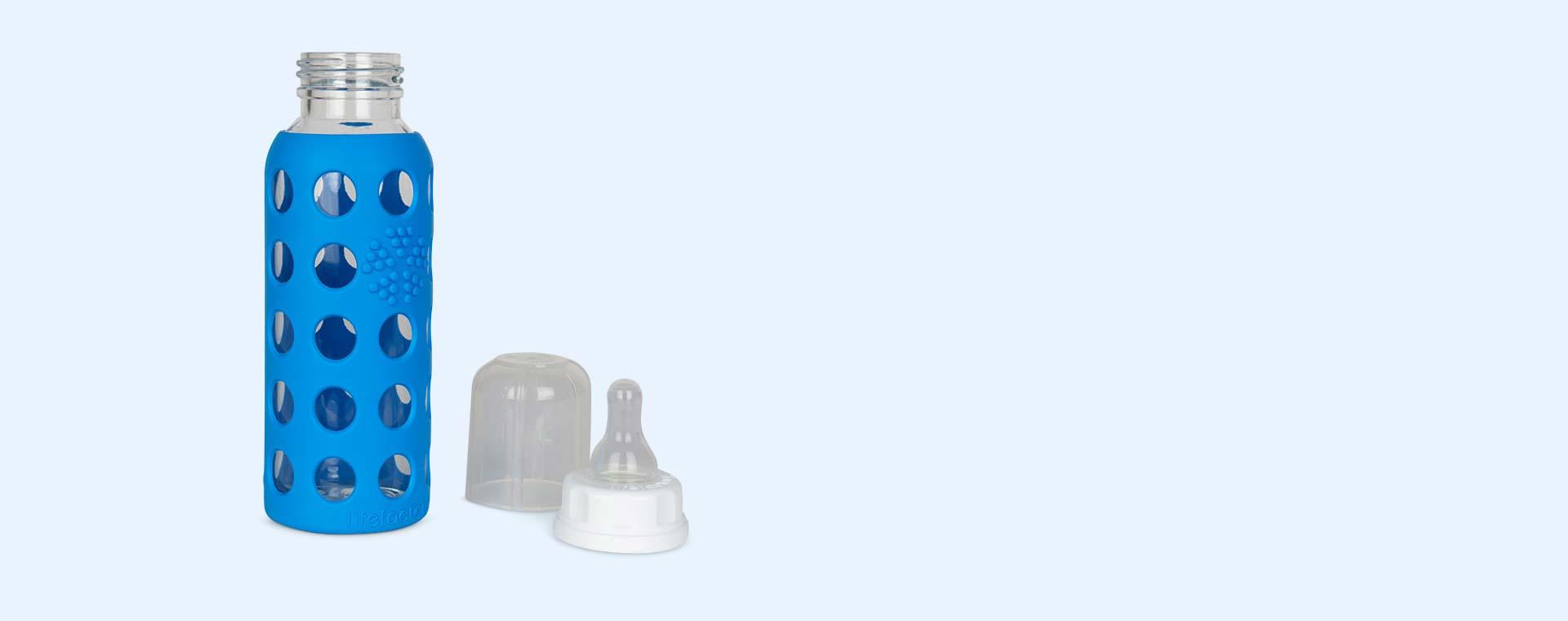 Ocean Lifefactory 9oz Glass Baby Bottle