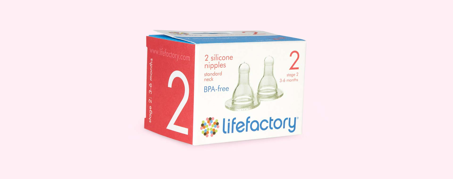 Clear Lifefactory Stage 2 Teat
