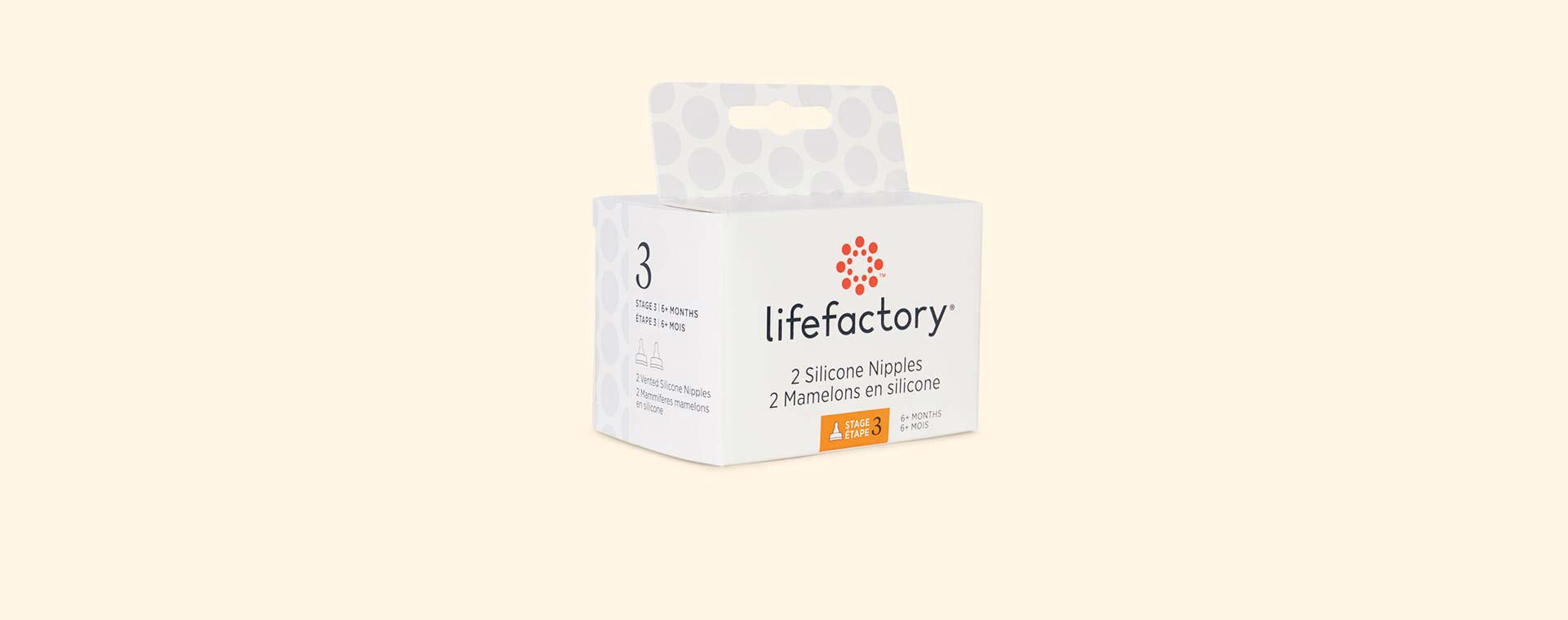Clear Lifefactory Stage 3 Teat