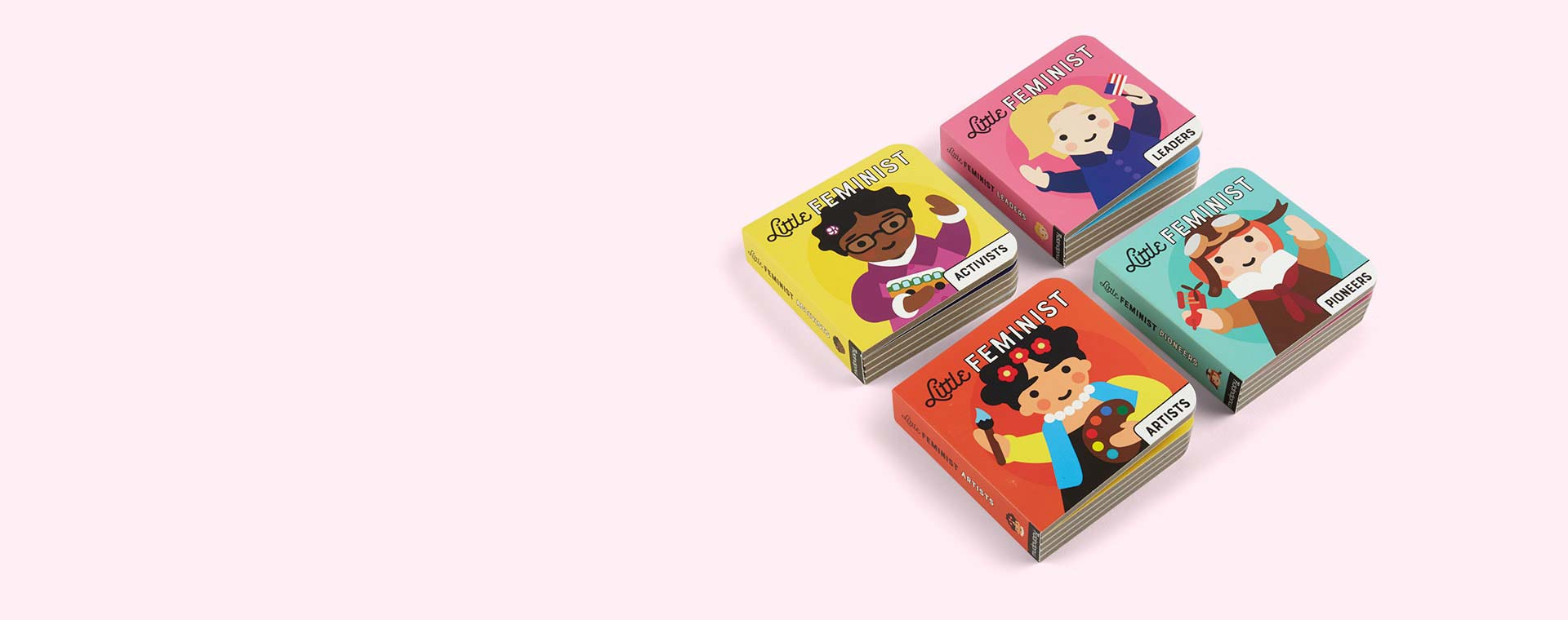Multi Abrams & Chronicle Books Little Feminist Board Book