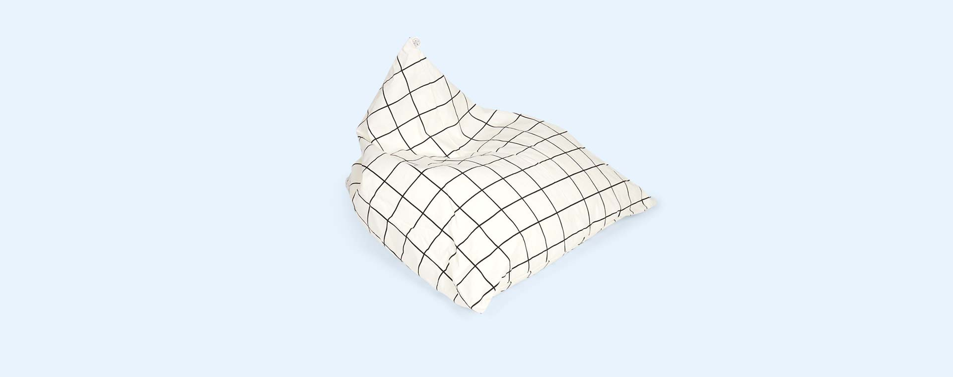 Grid Wildfire Teepees Bean Bag