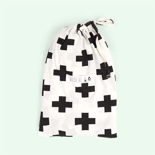 Cross Wildfire Teepees Fitted Cot Sheet