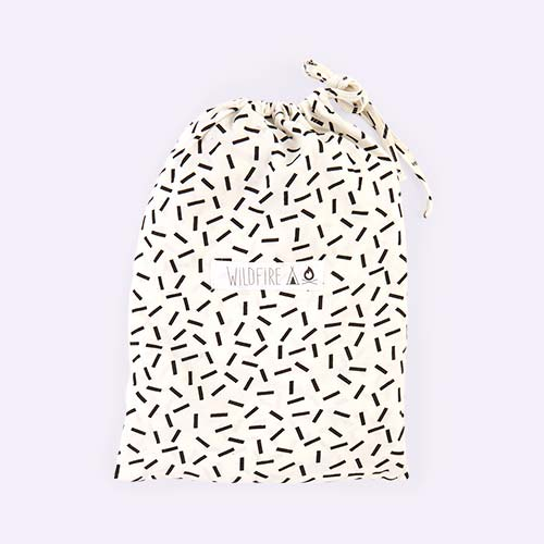 Dash Wildfire Teepees Fitted Cot Sheet