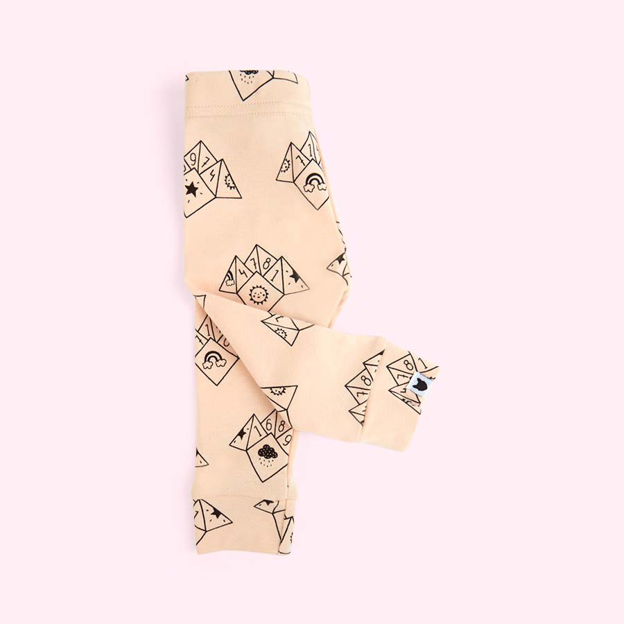 Peach tobias & the bear Fortune Teller Leggings