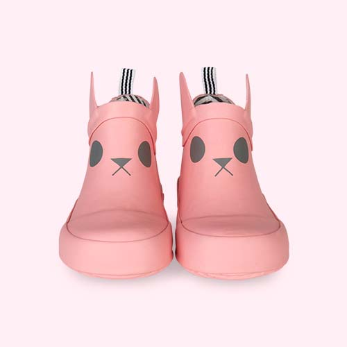 Pink Boxbo Kerran Ankle Welly Boot