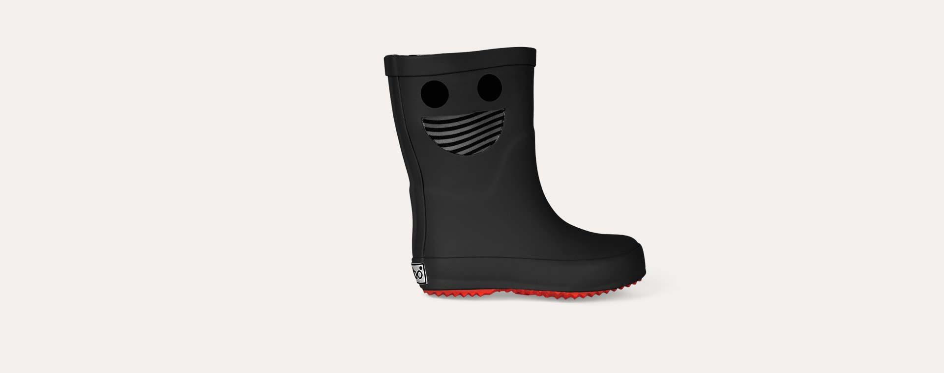 Black Boxbo Boxbonaute Welly Boot
