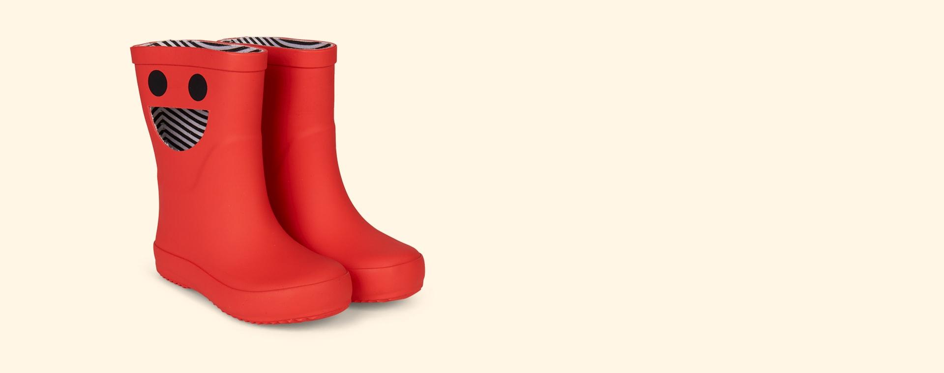 Red Boxbo Wistiti High Welly Boot