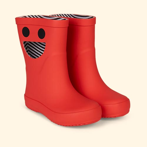 Red Boxbo Wistiti High Welly Boot
