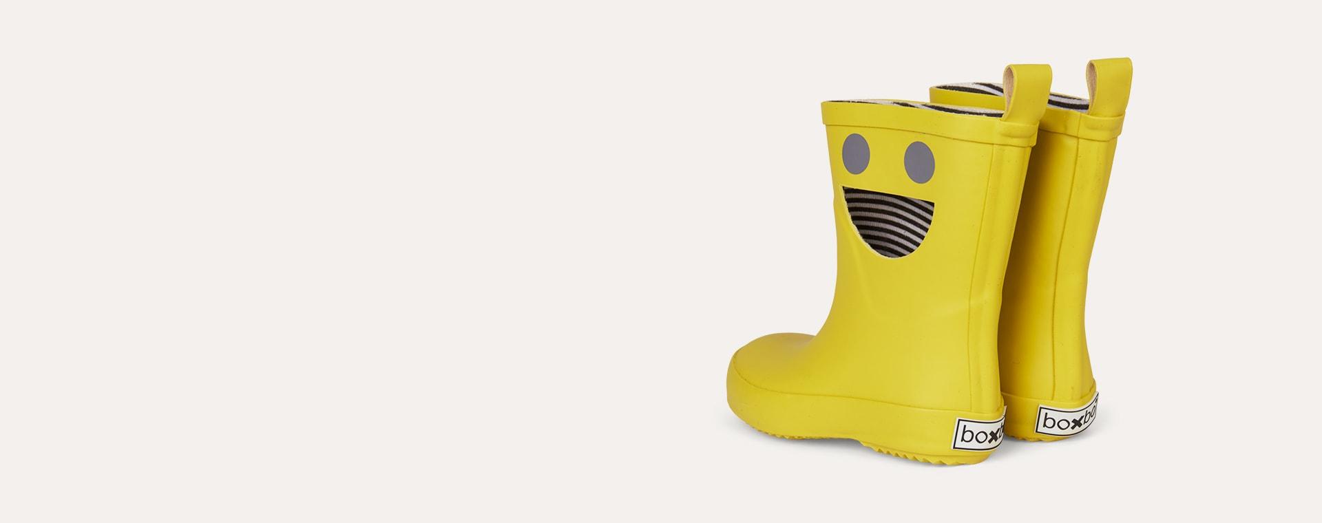 Mustard Boxbo Wistiti High Welly Boot