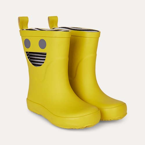 Mustard Boxbo Wistiti High Welly Boot