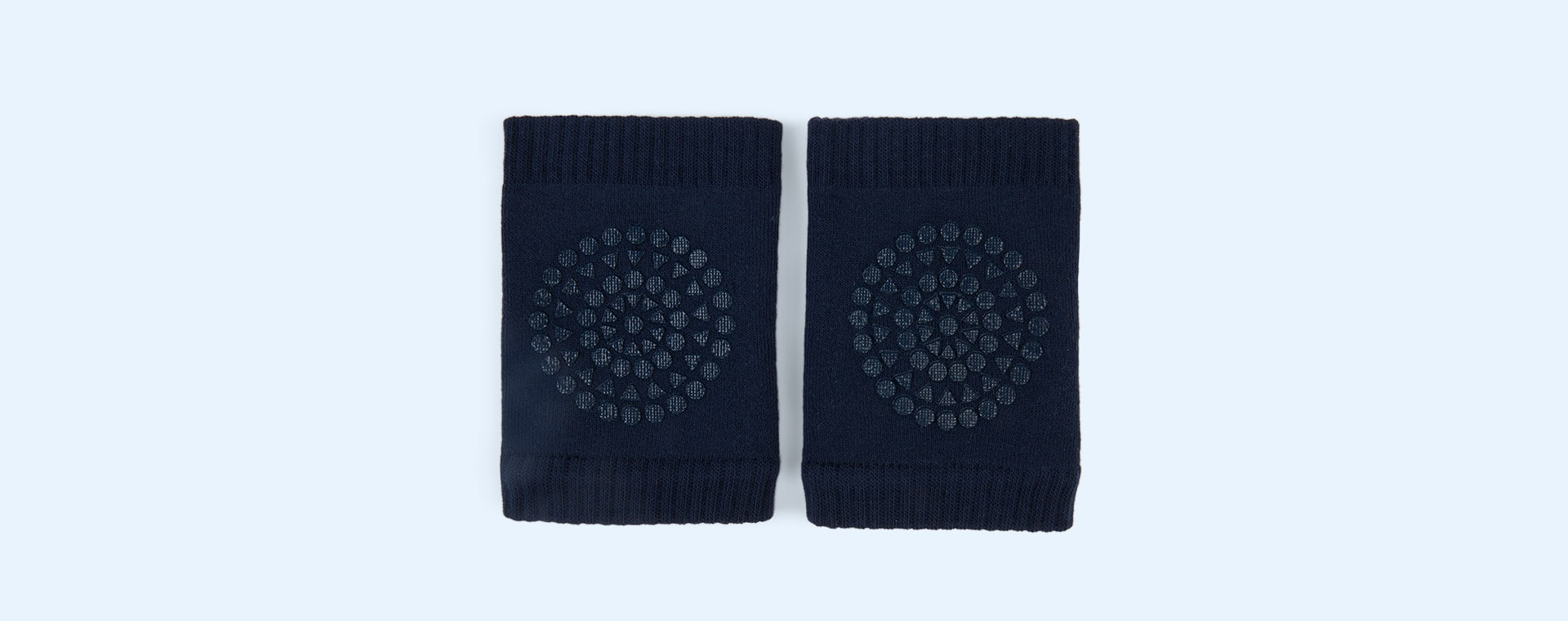 Navy Go Baby Go Crawling Knee Pads