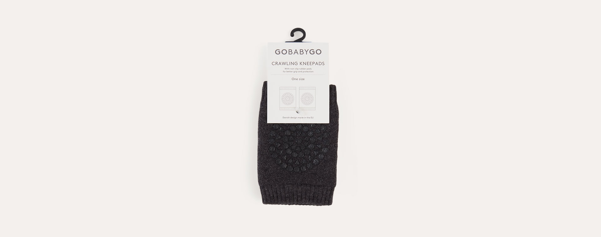 Charcoal Go Baby Go Crawling Knee Pads